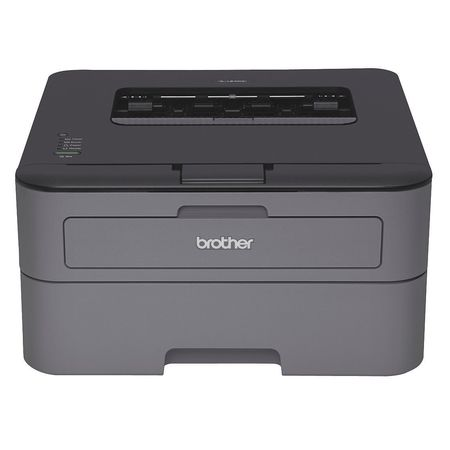 BROTHER BRTHLL2300D Laser Printer,Black/White,7-13/64inx4in G0546458