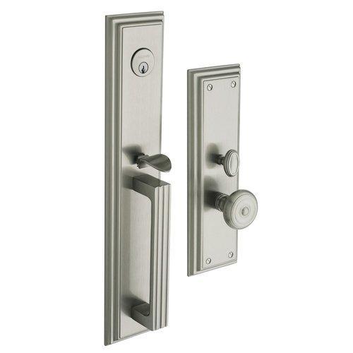 Baldwin  6542.FD  Dummy Set  Tremont  Mortise Lock  ;Lifetime Satin Nickel