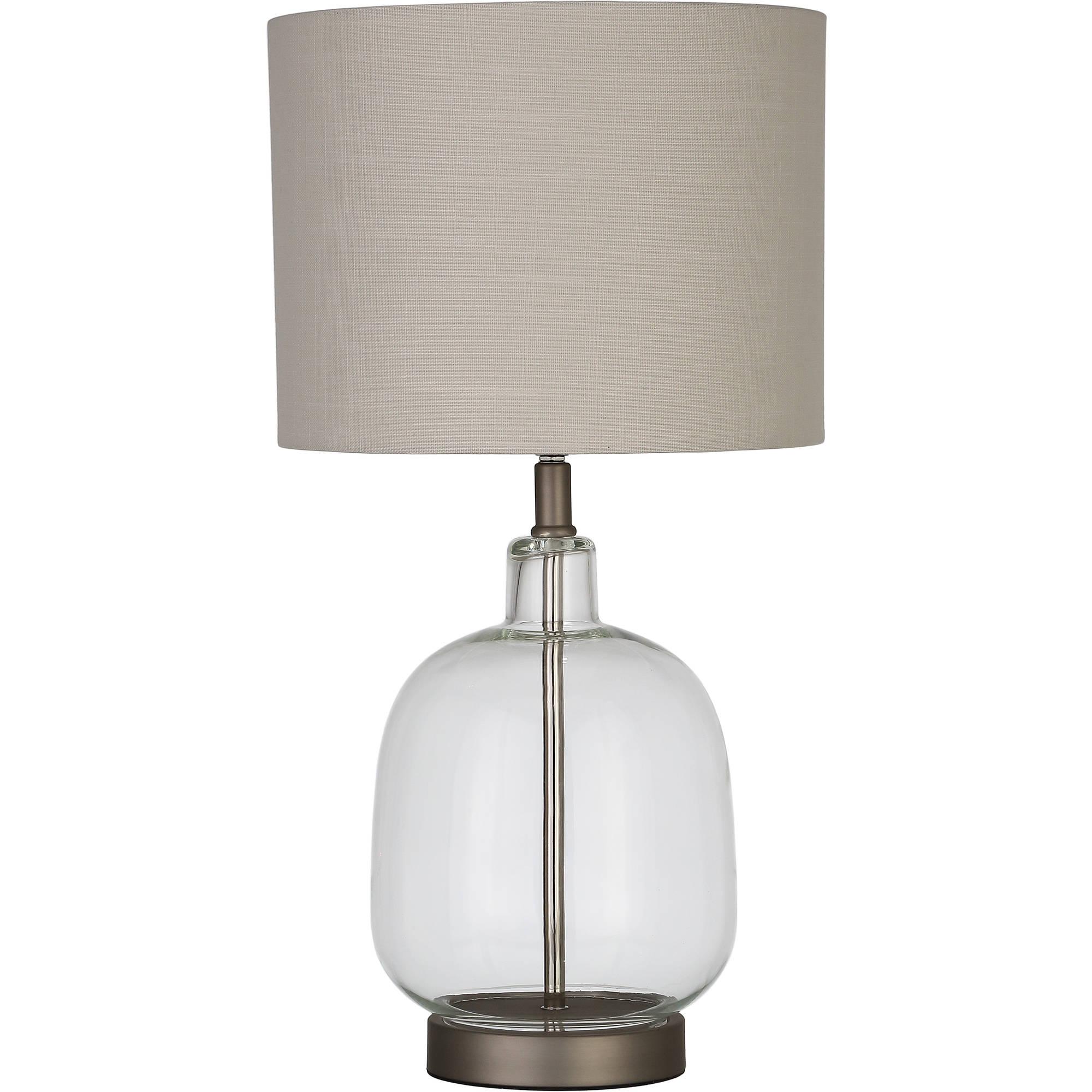 Better Homes Gardens Clear Glass Lamp Artisan Glass Table Lamp