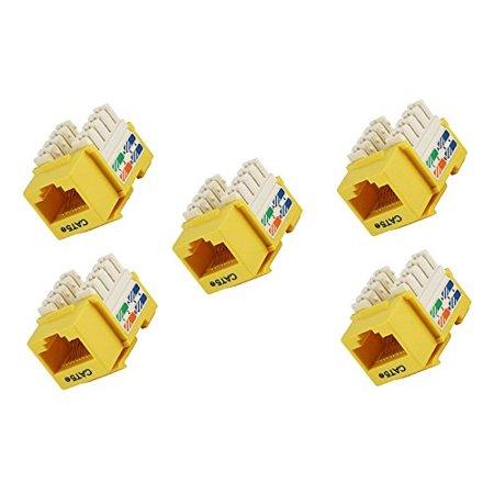 5 Pack Cat5E Punch Down Keystone Jack Yellow Keystone Wire Diagram on boss wire diagram, cherokee wire diagram, ford wire diagram, bennett wire diagram, delta wire diagram, marathon wire diagram, winnebago wire diagram, cable wire diagram, sterling wire diagram,