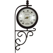 "Luster Leaf 20054 15.25"" Evesham Clock & Thermometer"