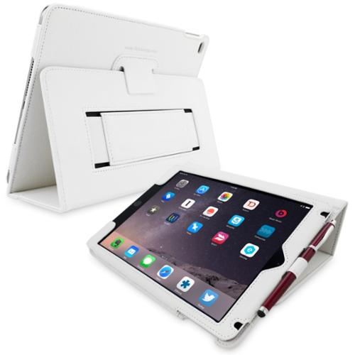 Snugg White Leather iPad Air 2 Case