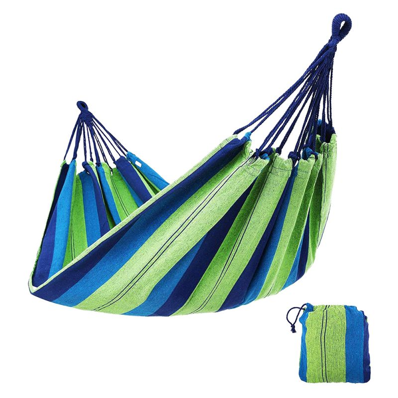 Single Double Outdoor Hammock Anti-Rollover Thick Double