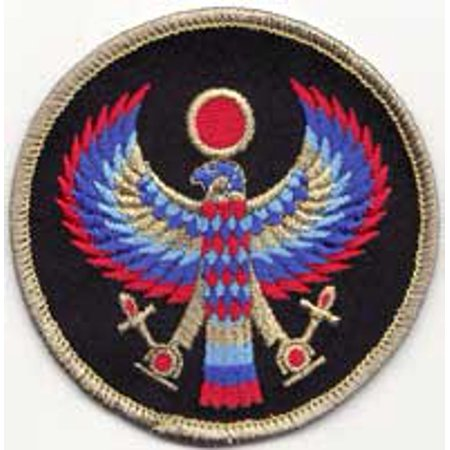Sewing Decorative Patches Egyptian Winged Horus God of Sun and Sky Sew On Patch