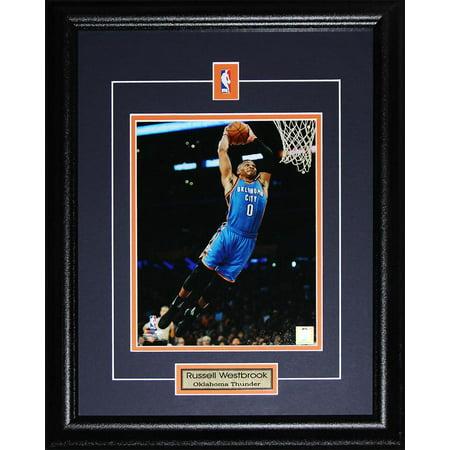 Russell Westbrook Oklahoma City Thunder OKC 8x10 NBA Basketball Collector Frame - image 1 de 1