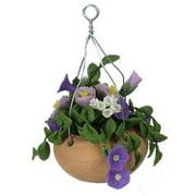 Dollhouse Mixed Purple Hanging Pot