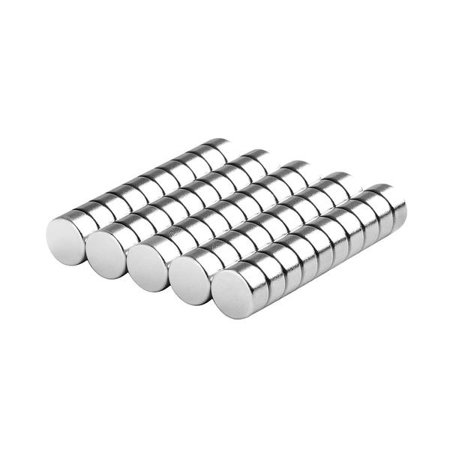 Small Round Magnets (totalElement 1/4 x 1/8 inch Small Neodymium Rare Earth Disc Magnets N48 (50)