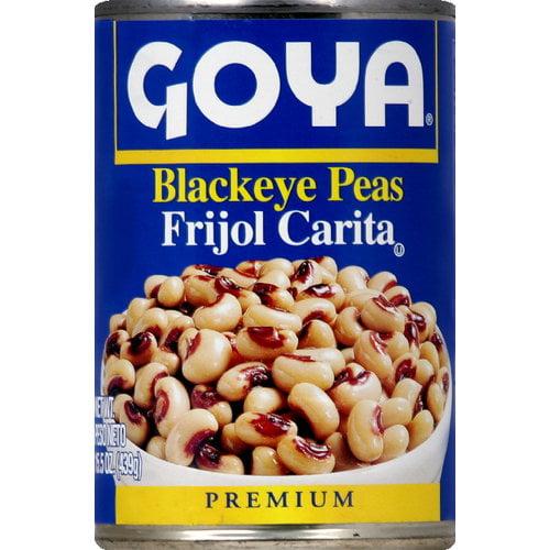 Goya Blackeye Peas, 15.5 oz (Pack of 24) by Generic