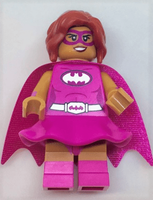 The Lego Batman Movie series 1 Pink Power Batgirl minifigure