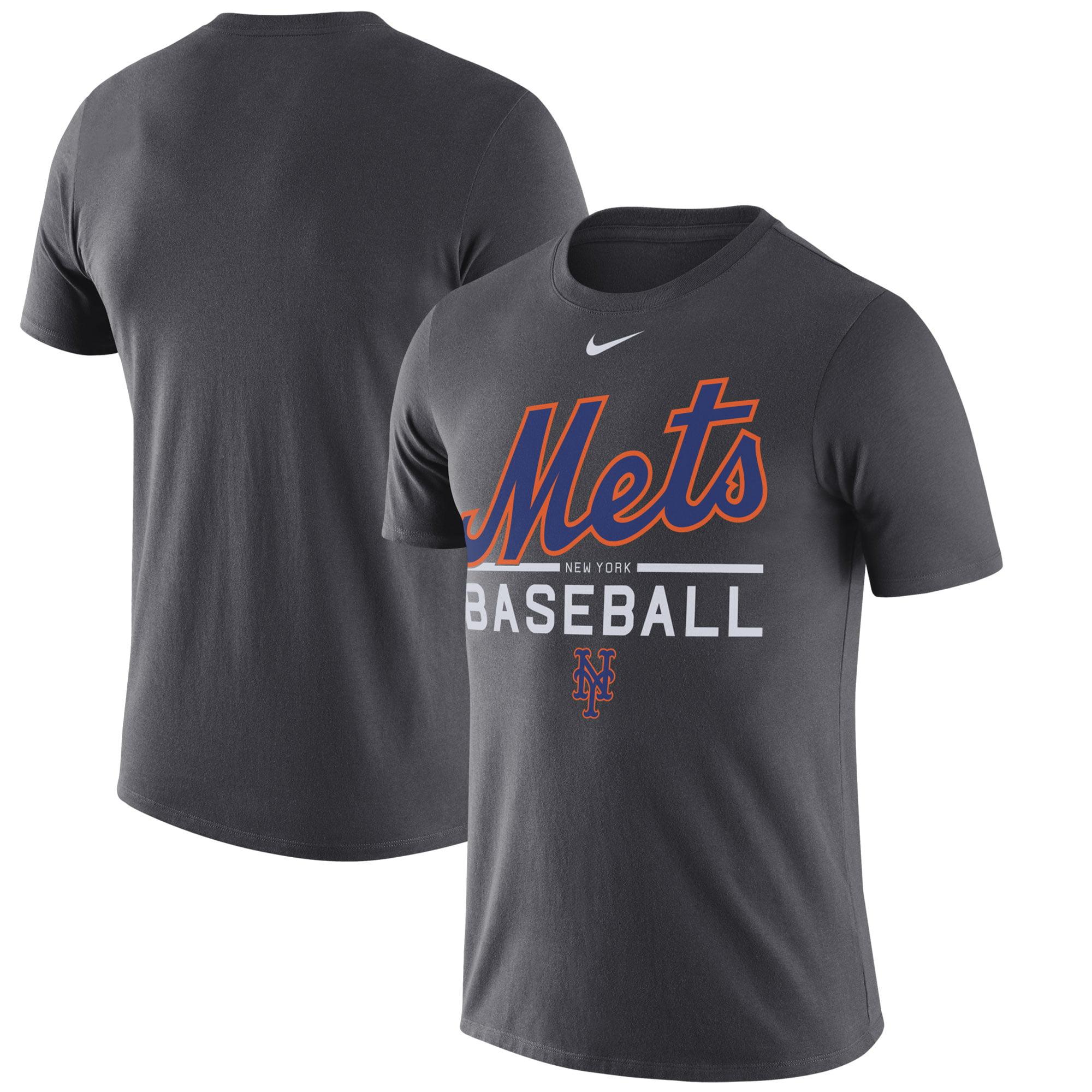 New York Performance: New York Mets Nike Practice Performance T-Shirt