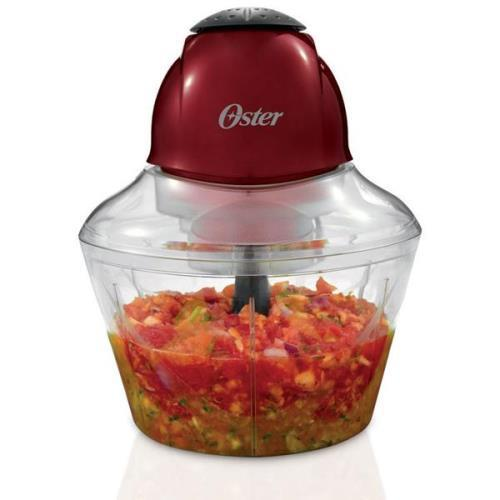 No.FPSTMC1250 Oster Top Chop Red Food Chopper