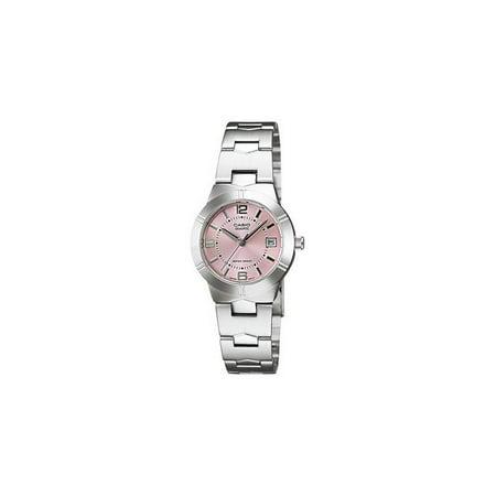 - Women's Classic Watch Quartz Mineral Crystal LTP-1241D-4A