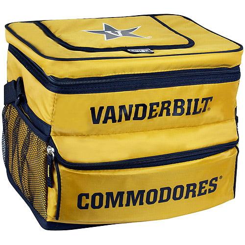 NCAA Vanderbilt University 18-Can Cooler with Removable Hardliner