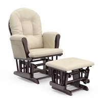 Storkcraft Bowback Glider and Ottoman Beige Cushion