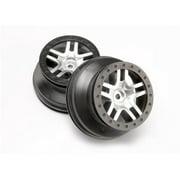 Traxxas Wheels SCT Split-Spoke Chrome Slash 4x4, 6872