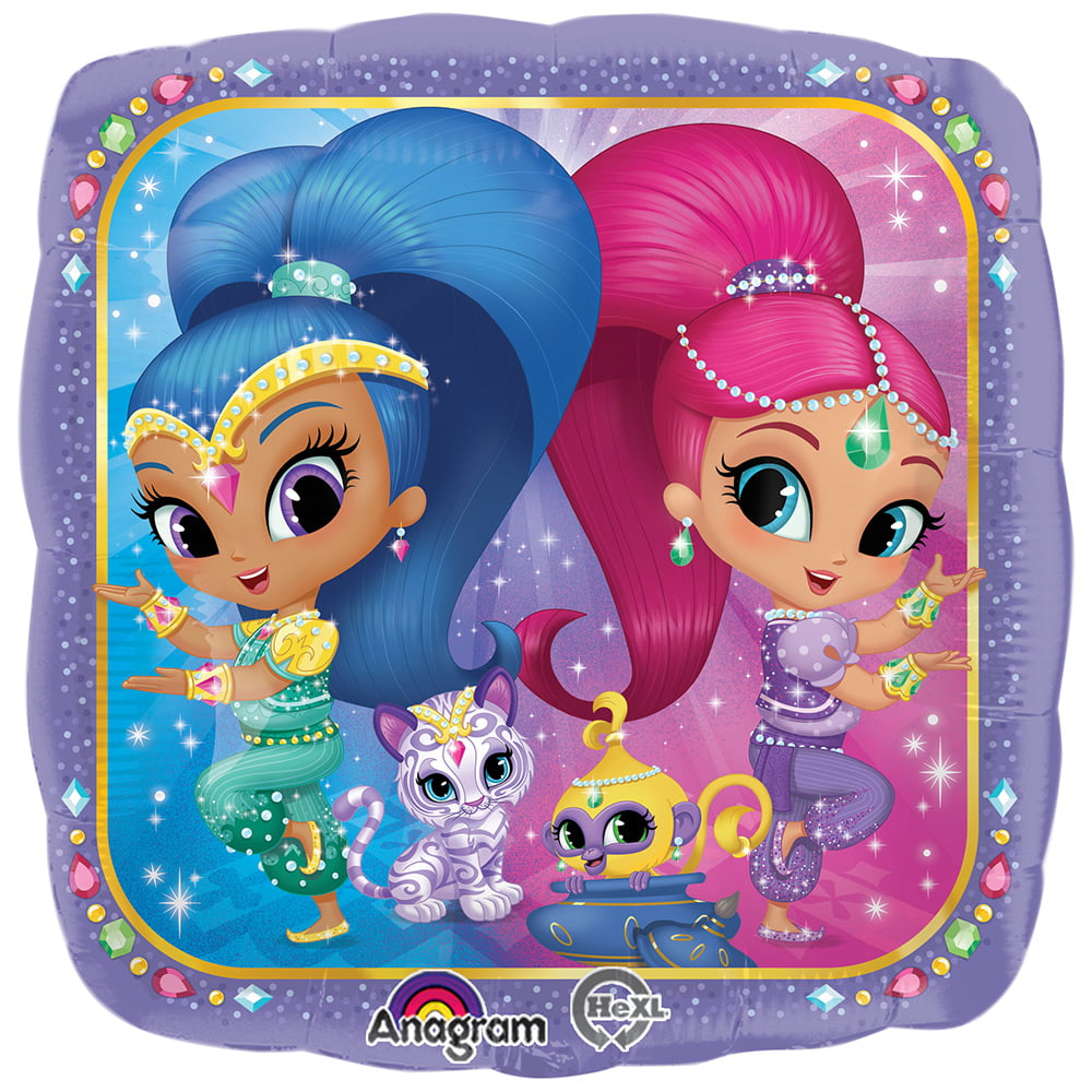 Shimmer And Shine 17 34 Balloon Party Supplies Walmart Com