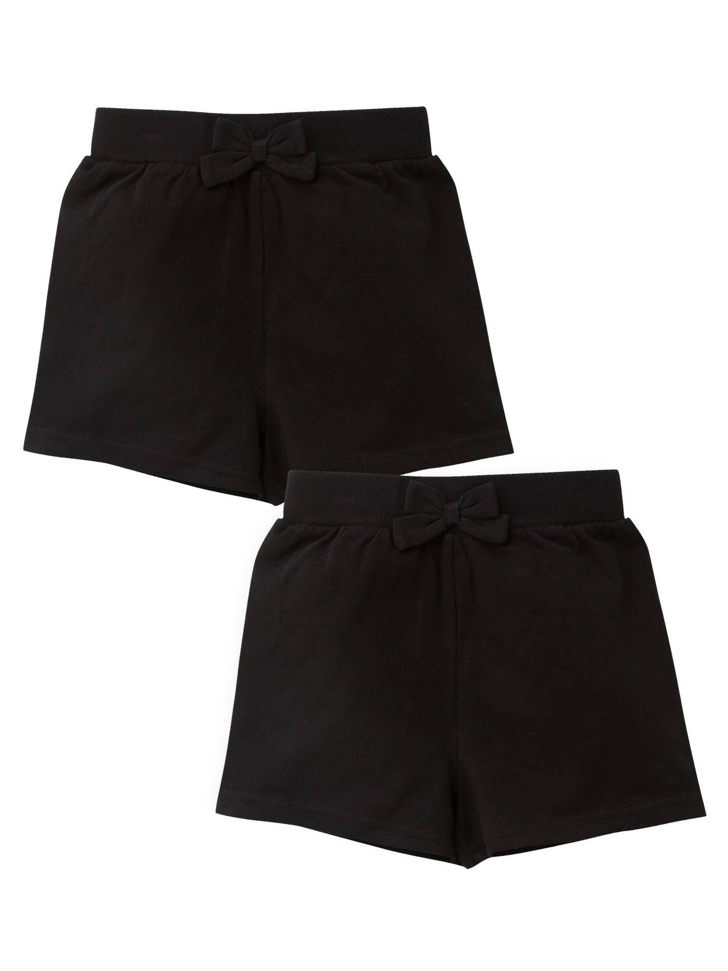 Black Bike Shorts Bundle, 2pk (Baby Girls and Toddler Girls)