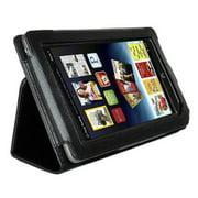 AGPtek Leather Cover Case Stand for Barnes & Noble Nook Tablet Color Black