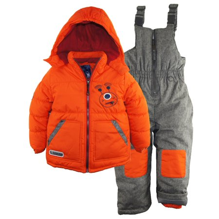 8ee657939 Rugged Bear - Rugged Bear Toddler Boy Snowsuit Robot Winter Winter ...
