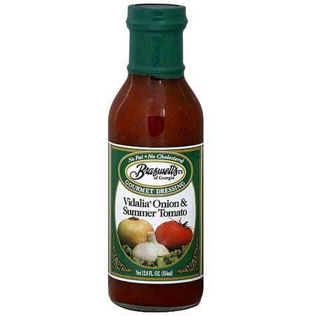 Braswell's Vidalia Onion & Summer Tomato Dressing, 12 oz (Pack of (Braswell Dressing)