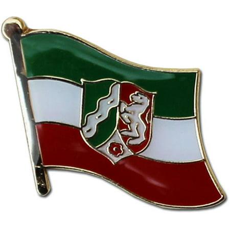 North Rhine-Westphalia Flag Lapel (North Carolina Lapel Pin)