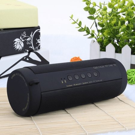 VicTsing Professional Waterproof Outdoor HIFI Column Speaker Wireless Bluetooth Speaker Subwoofer Sound Box with Flashlight Support FM Radio TF Mp3 Player Mobile