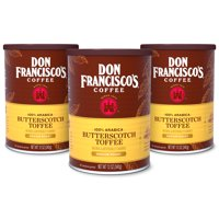 Don Francisco's Butterscotch Flavored Ground Coffee, 12-Ounce (Pack of 3)
