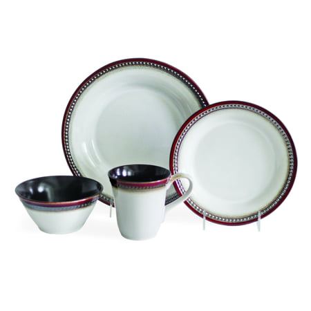 Baum Bellepoint 16-Piece Dinnerware Set