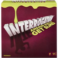 Interrogation Trivia Game with Slime Crane for 3-6 Players Ages 14Y+