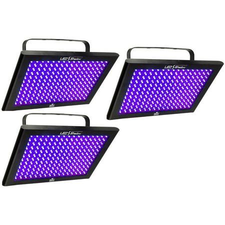 Chauvet Black Shadow - 3 Chauvet LED SHADOW DJ / Club DMX 512 Black Light Panels