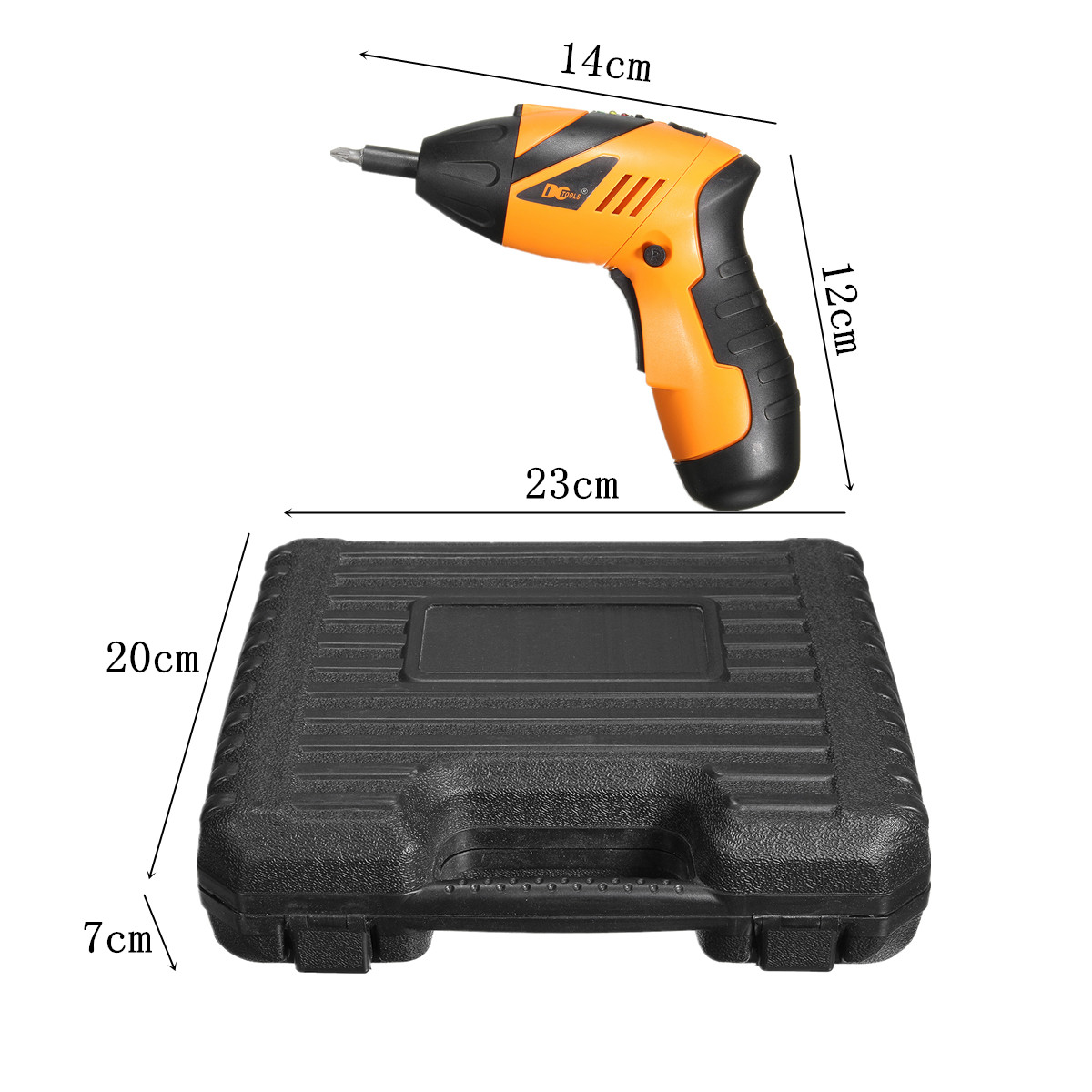 Charger Screwdrivers 45pcs Rechargeable Cordless 4.8v Electric Screwdriver Drill Tool Kit