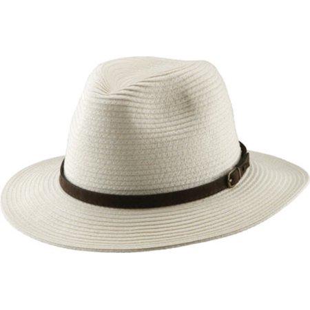 Scala Paper Braid - Men's Scala MS269 Braided Safari Hat