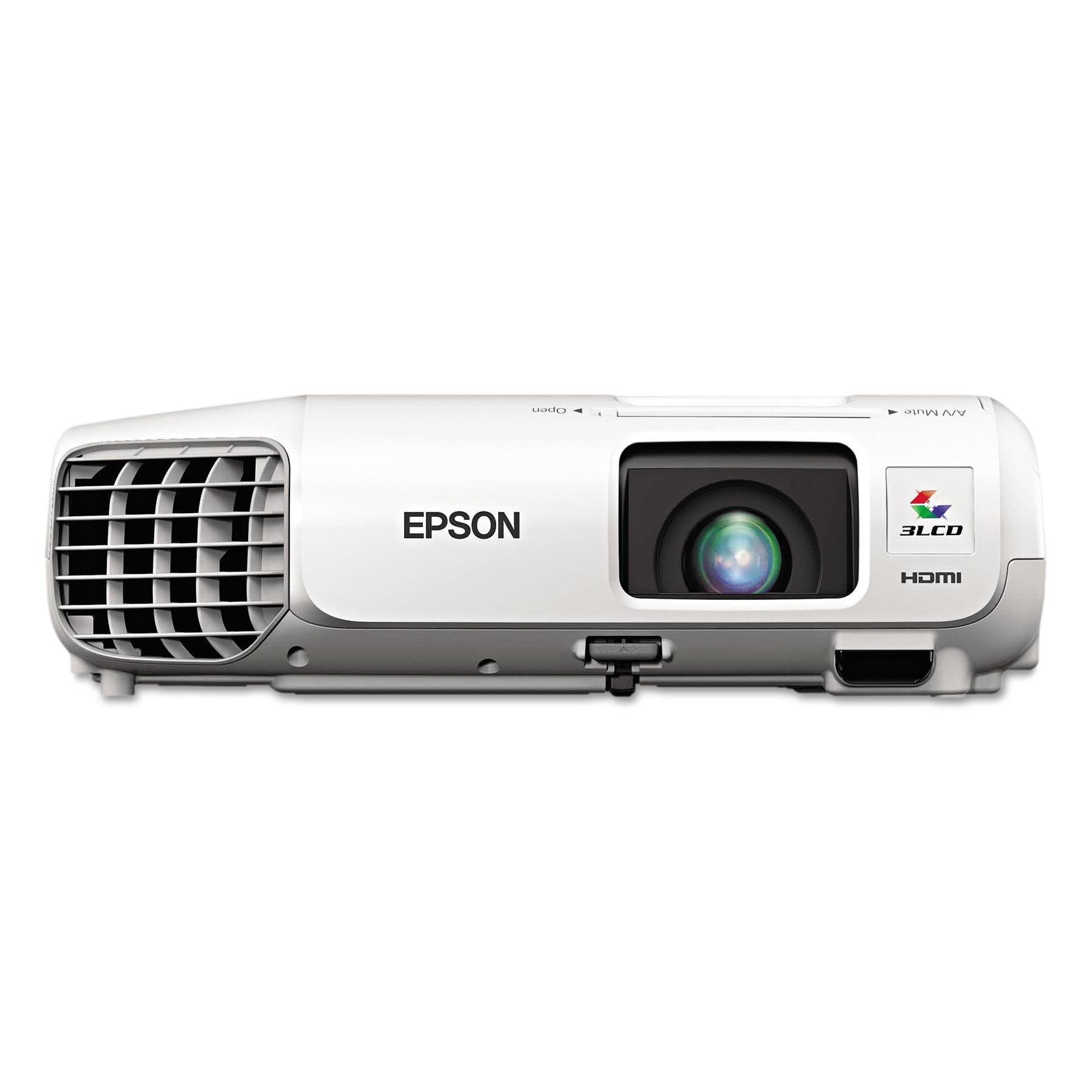 Epson PowerLite X27 XGA 3LCD Projector, 2700 Lumens, 1024 x 768 Pixels, 1.2x Zoom by EPSON AMERICA, INC.