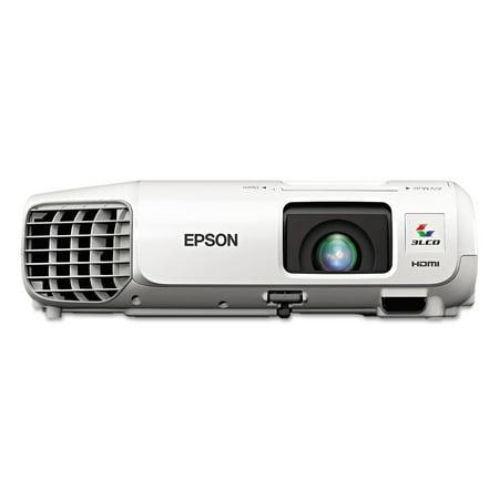 Epson Powerlite X27 Xga 3Lcd Projector  2700 Lumens  1024 X 768 Pixels  1 2X Zoom