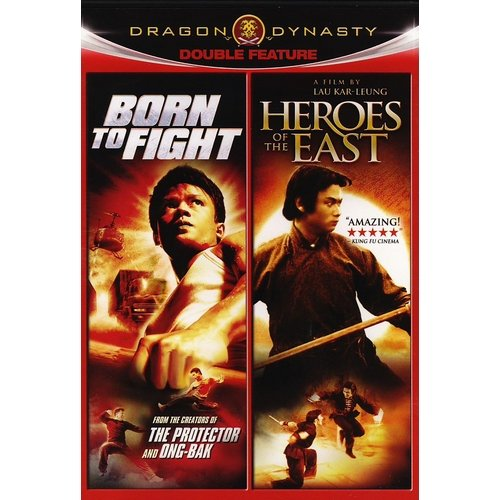 Dragon Dynasty Double Feature: Born To Fight / Heroes Of The East (Widescreen)
