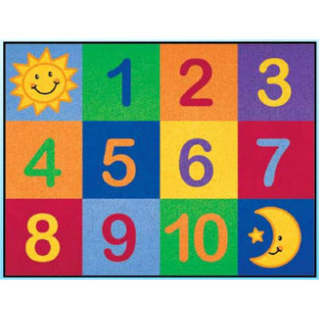 Learning Carpets CPR 570 Number Grid Rug