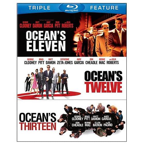 Ocean's 11 / Ocean's 12 / Ocean's 13 (Blu-ray) (Widescreen)