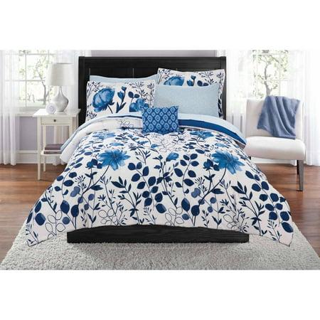 Mainstays Kamala Bed In A Bag Coordinating Bedding Set