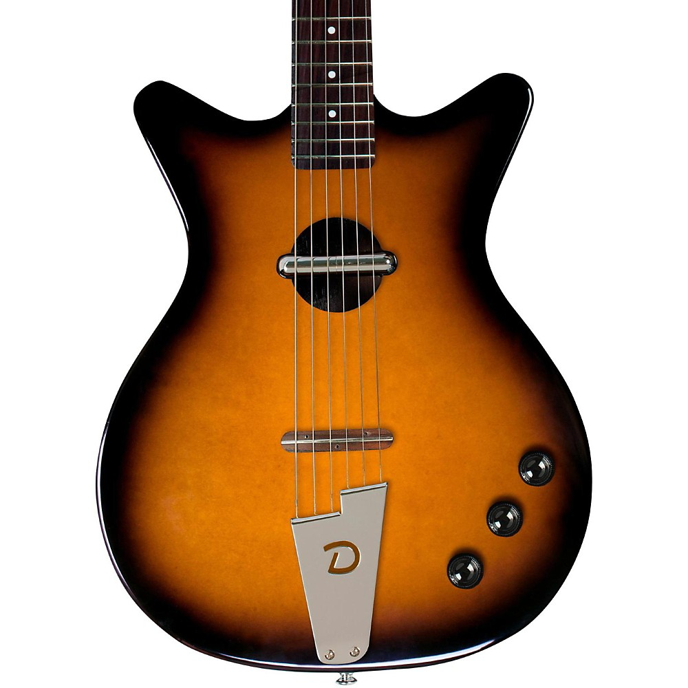Danelectro Convertible Acoustic-Electric Guitar Tobacco Sunburst by Danelectro