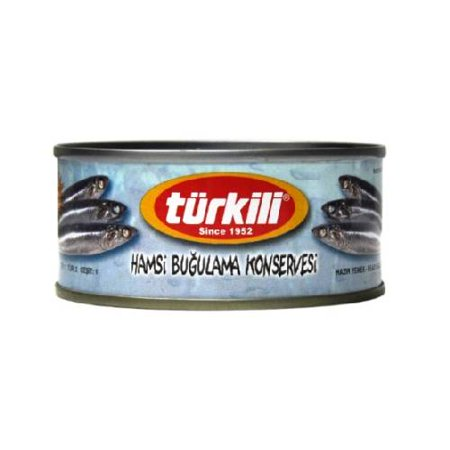 Türkili Steamed Anchovies (Hamsi) - 5.6oz