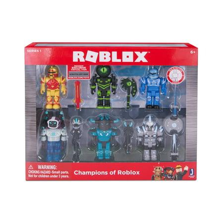 Roblox Champions Of Roblox Six Figure Pack Walmart Com