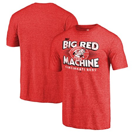 Cincinnati Reds Fanatics Branded Big Red Machine Hometown Collection T-Shirt - Red