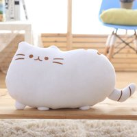 KABOER 1 Pcs Cat Plush Hugging Pillow, Super Soft Kitten Kitty Stuffed Animals Toy Gifts for Kids, Girls, Bed, Christmas, Valentine Gift
