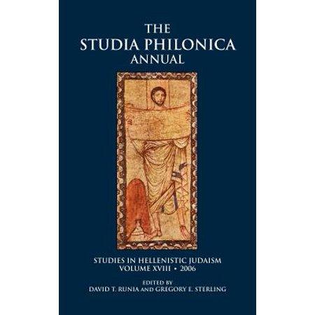 - Studia Philonica Annual, XVIII, 2006