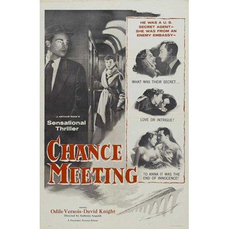 Chance Meeting POSTER Movie B (27x40)](Halloween Meetings)