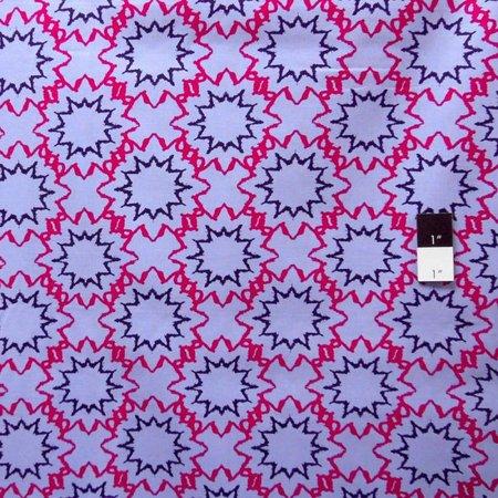 Free Spirit Design Loft PWFS004 Kaleidoscope Starred Denim Fabric By Yard