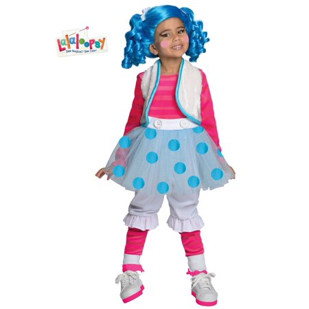 Deluxe Mittens Fluff and Stuff Lalaloopsy Costume for Girls - Party City Halloween Stuff