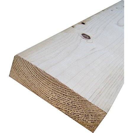 Image of American Wood STUD2X4X6 Stud Grade Wood Molding, 6 ft L x 4 in W x 2 in T