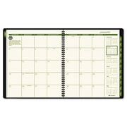 At-A-Glance 70260G60 Recycled Monthly Professional Planner  13 Months (Jan-Jan)  Green Cover