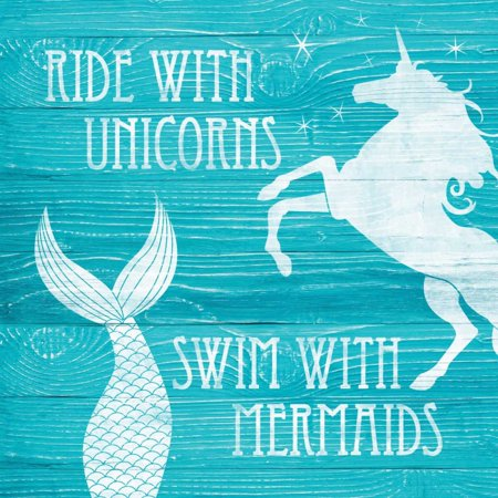 Ride With Unicorns Poster Print by N Harbick